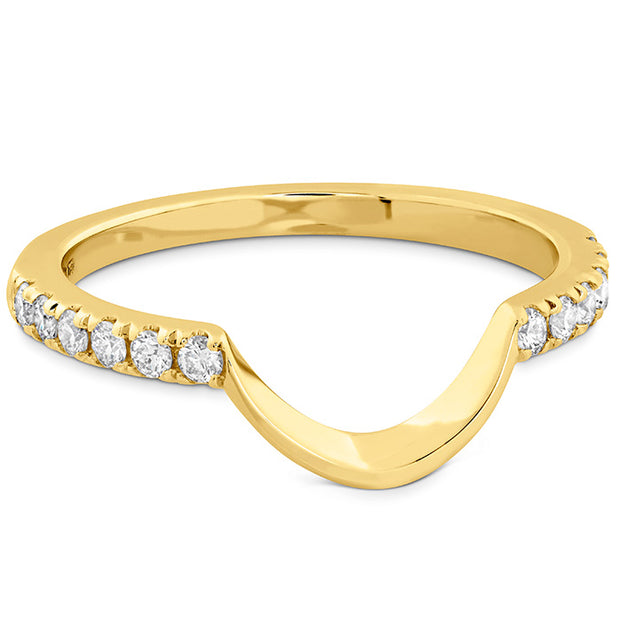 Hearts On Fire Delight Lady Di Curved Diamond Band