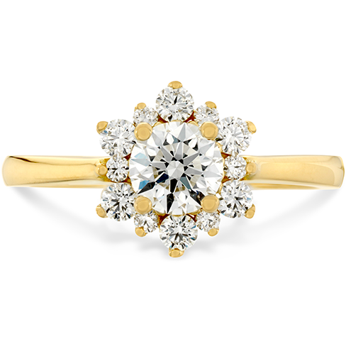 Hearts On Fire Delight Lady Di Diamond Engagement Ring