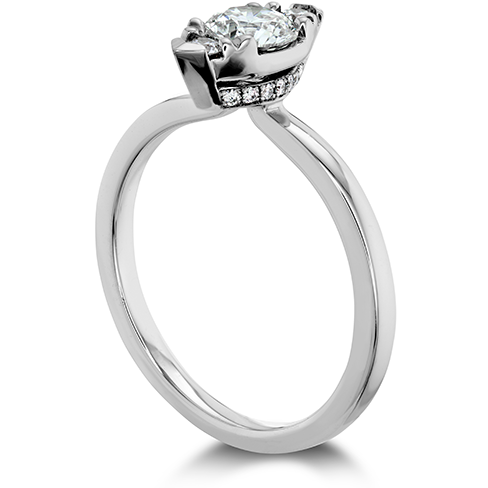 Hearts On Fire Desire Simply Regal Diamond Engagement Ring