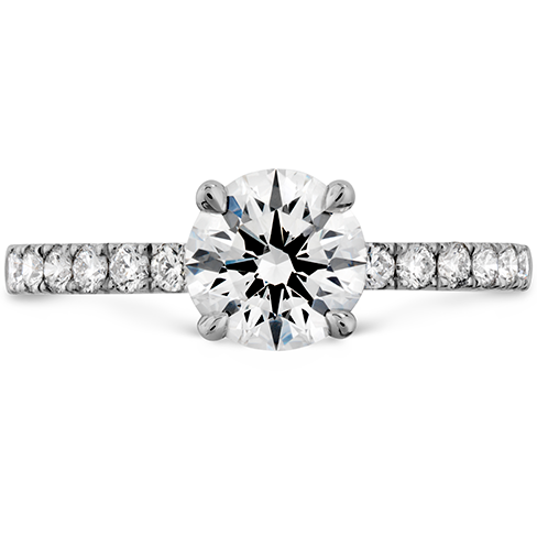 Hearts On Fire Destiny Diamond Engagement Ring