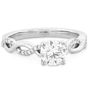 Hearts On Fire Destiny Lace Diamond Engagement Ring
