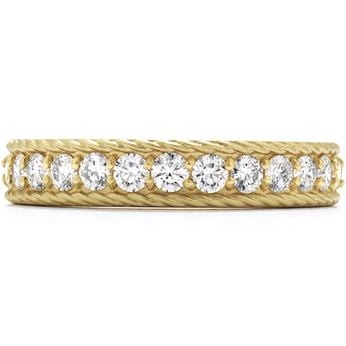 Hearts On Fire Diamond Bar Braided Band with Satin Finish