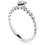 Hearts On Fire Diamond Bar Heart Stackable Ring