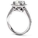 Hearts On Fire Distinction Engagement Ring