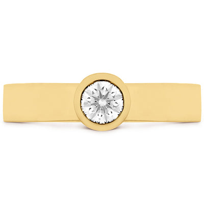 Hearts On Fire Distinguished Single Bezel Diamond Ring