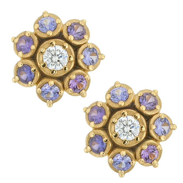Alex Sepkus Flower Earrings - E-101S