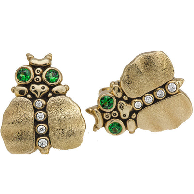 Alex Sepkus Thoughtful Beetle Earrings - E-108