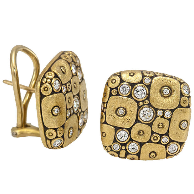 Alex Sepkus Soft Mosaic Earrings - E-115D