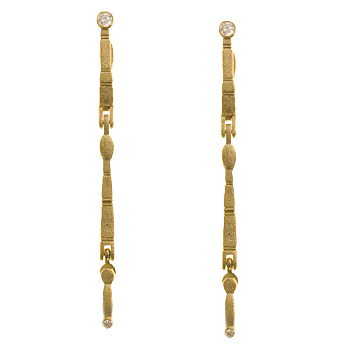 Alex Sepkus Sticks and Stones Earring Mountings - E-137MD