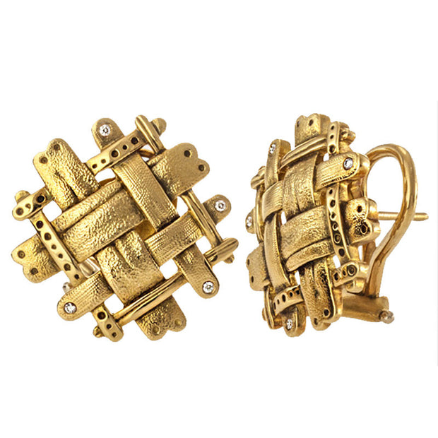 Alex Sepkus Woven Earrings - E-175D