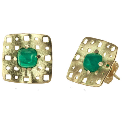 Alex Sepkus Cabochon Earrings - E-198