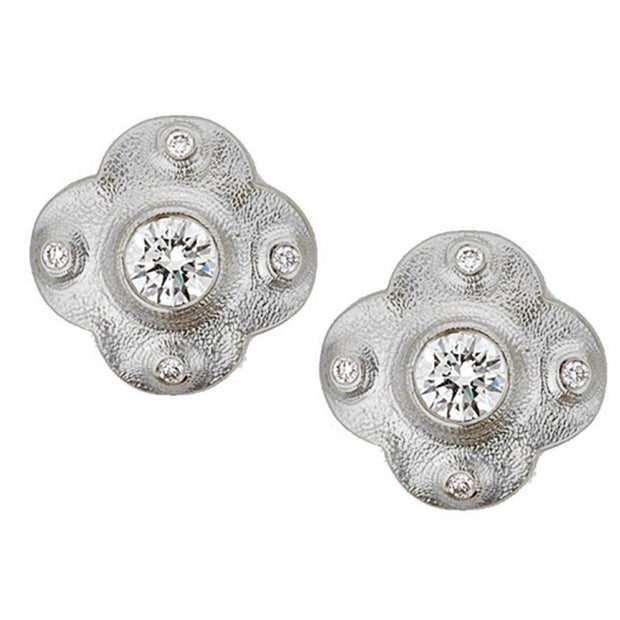 Alex Sepkus Cross Earrings - E-217PD