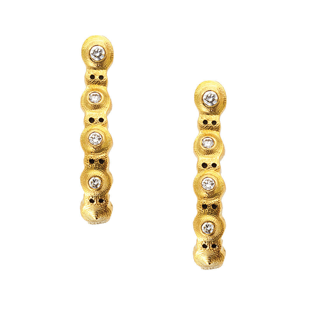 Alex Sepkus Lilly Pad Earrings - E-220D