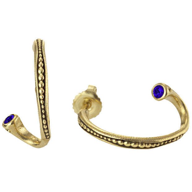 Alex Sepkus Twist Hoop Earrings - E-27FS
