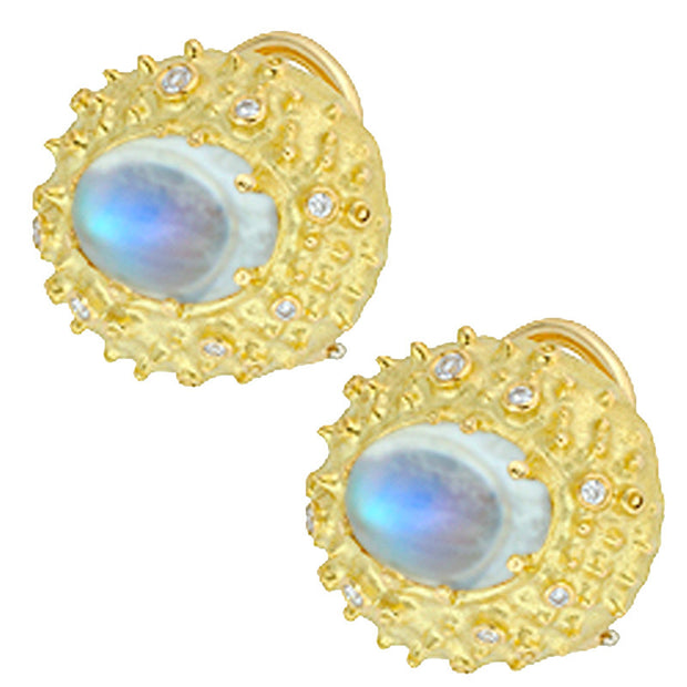 Alex Sepkus Lunar Moonstone Earrings - E-72