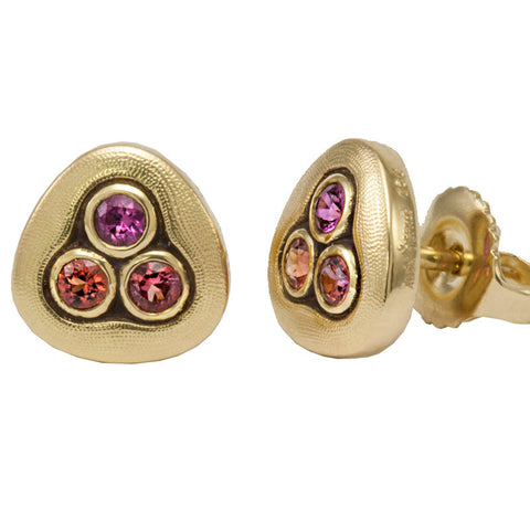Alex Sepkus Swirling Water Stud Earrings - E-75S