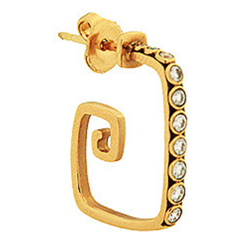 Alex Sepkus Spiral Hoop Earrings - E-82