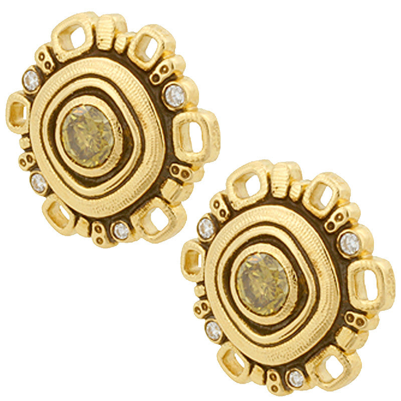 Alex Sepkus Wheel Earrings - E-85DC