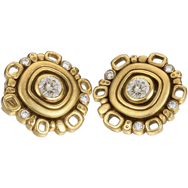 Alex Sepkus Wheel Earrings - E-85D