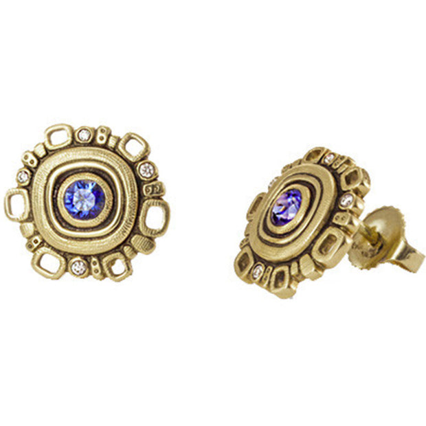 Alex Sepkus Sapphire Earrings - E-85S
