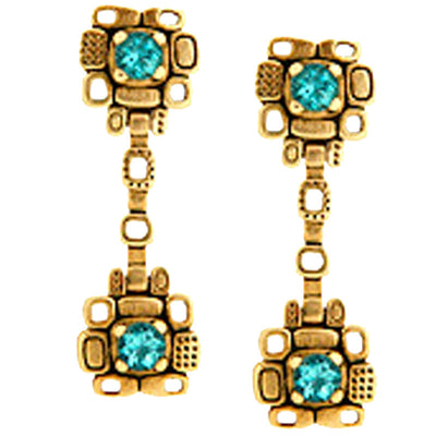 Alex Sepkus Aquamarine Drop Earrings - E-88