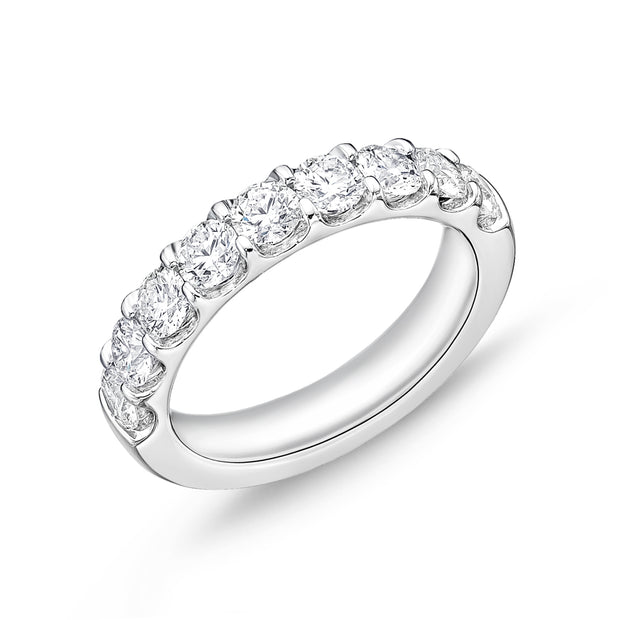 Passion Collection Odessa Diamond Eternity White Gold Band