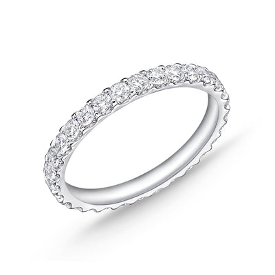 Passion Collection Diamond Eternity White Gold Band