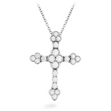 Hearts On Fire Effervescence Cross Diamond Necklace