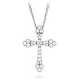 Hearts On Fire Effervescence Graceful Cross Diamond Necklace