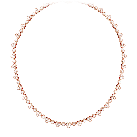 Hearts On Fire Effervescence Line Diamond Necklace