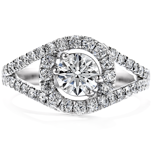 Hearts On Fire Endeavor Diamond Engagement Ring