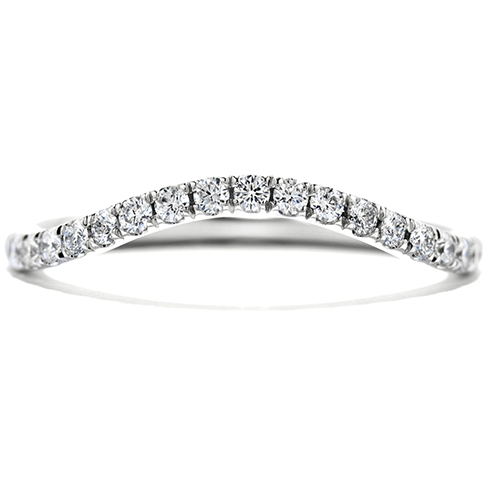 Hearts On Fire Endeavor Wedding Band