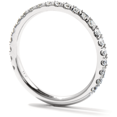 Hearts On Fire  Enrichment Wedding Band