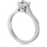 Hearts On Fire Enticement Channel Dream Diamond Engagement Ring