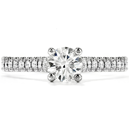 Hearts On Fire Enticement Diamond Engagement Ring