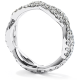 Hearts On Fire Envelop Split Shank Eternity Band