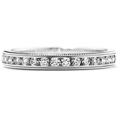 Hearts On Fire Eterne Milgrain Wedding Band
