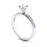Hearts On Fire Eterne Milgrain Solitaire Engagement Ring