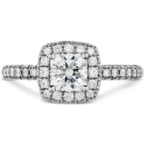 Hearts On Fire Euphoria Dream Pave Diamond Engagement Ring
