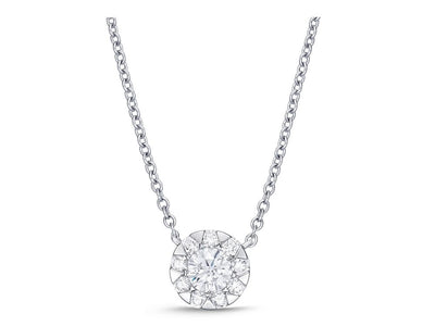 Passion Collection Diamond Bouquets Necklace