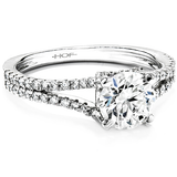 Hearts On Fire Felicity Split Shank Diamond Engagement Ring
