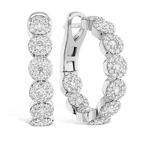 Hearts On Fire Fulfillment Diamond Hoop Earrings