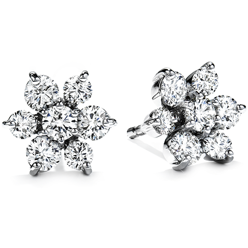 Hearts On Fire Garden Flower Diamond Earrings