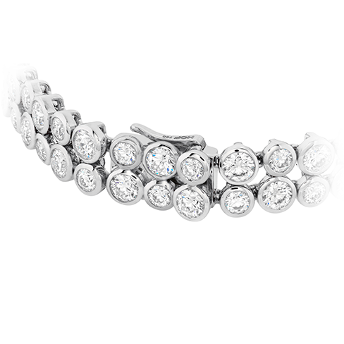 Hearts On Fire Double Bezel Diamond Bracelet
