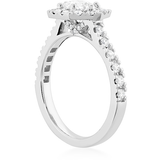 Hearts On Fire Hexagonal Diamond Engagement Ring