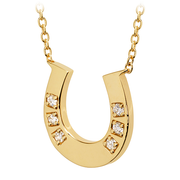 Hearts On Fire Horseshoe Necklace