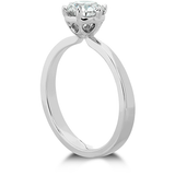 Hearts On Fire Signature 6 Prong Solitaire Diamond Engagement Ring
