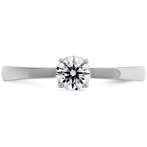 Hearts On Fire Signature Solitaire Diamond Engagement Ring