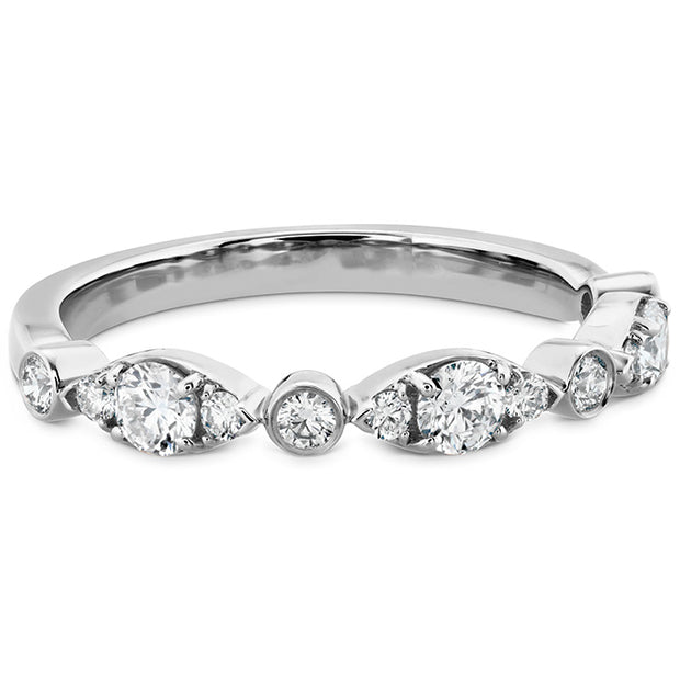 Hearts On Fire Regal Bezel Diamond Band
