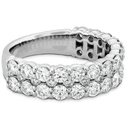 Hearts On Fire Classic Double Row Diamond Ring